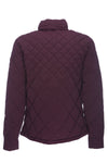 Mens ANGY Stretch Quilted Jacket in Dahlia Purple