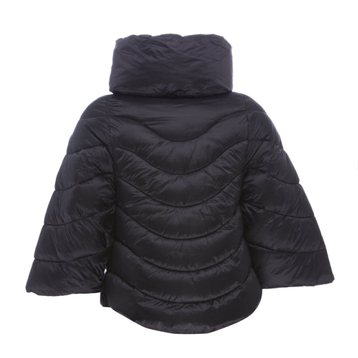 Women's Hooded Jacket in Noir