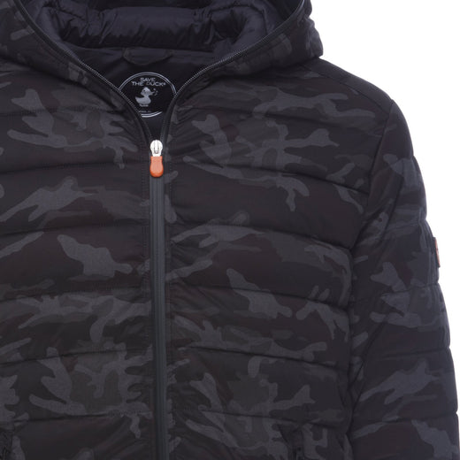 Men's Camouflage Stretch Puffer Jacket