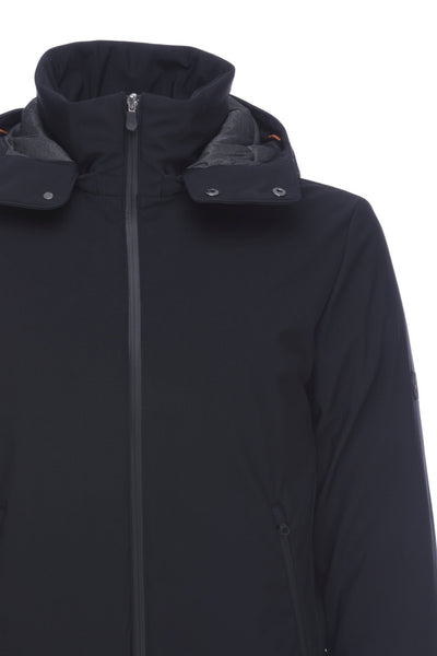 Mens Stretch Jacket in Black