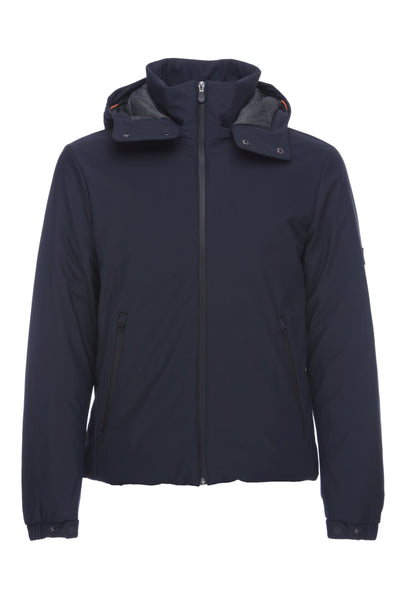 Mens Flex Jacket in Blue Black