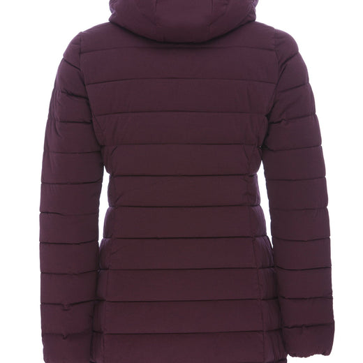 Women's Coat in Dahlia Purple Melange