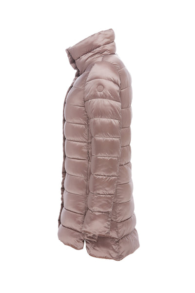 Women's Coat in Misty Rose