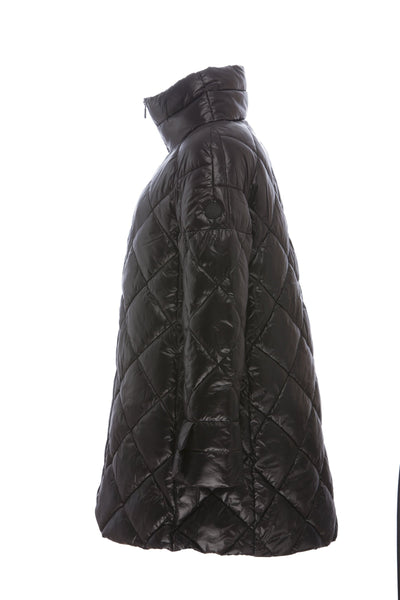 Women's Sleek Coat in Black