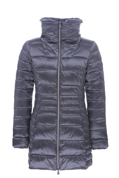 Women's Coat in Steel Grey