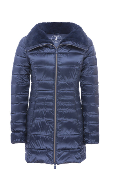 Women's Coat in Space Blue