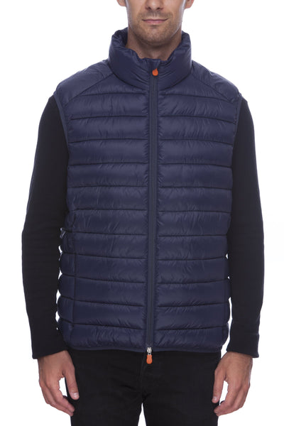 Men's Vest in Bleu Marine