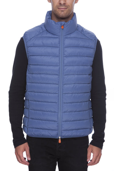 Men's Vest in Lake Blue