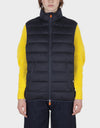 MENS SOLD VEST IN Blue Black