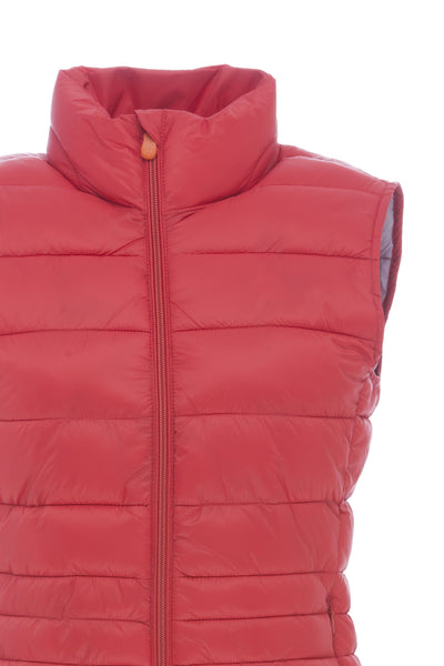 Women's Vest in Cranberry Red