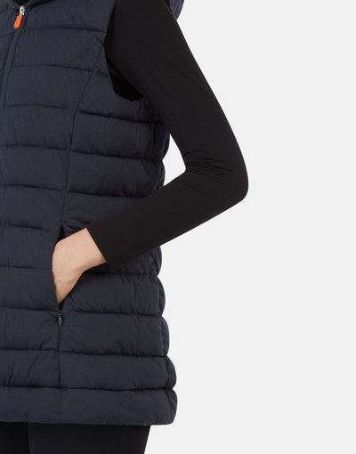 Save The Duck Gilet à capuche ANGY pour femme