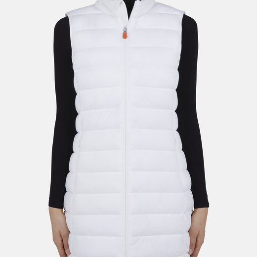 Womens Knitted Vest in SEAL
