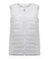 Womens FURY Reversible Faux Fur Sleeveless Jacket in Snow White