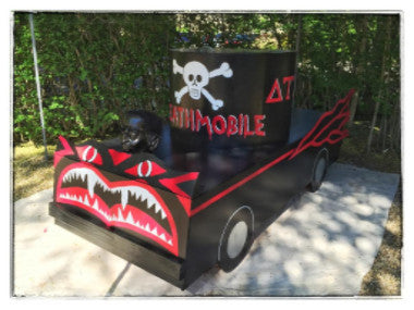 1/3 Scale Death Mobile Float for the ultimate Animal House Party