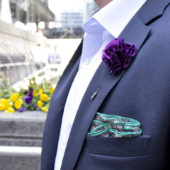 Add a touch of style to your suit with Stolen Riches pocket square