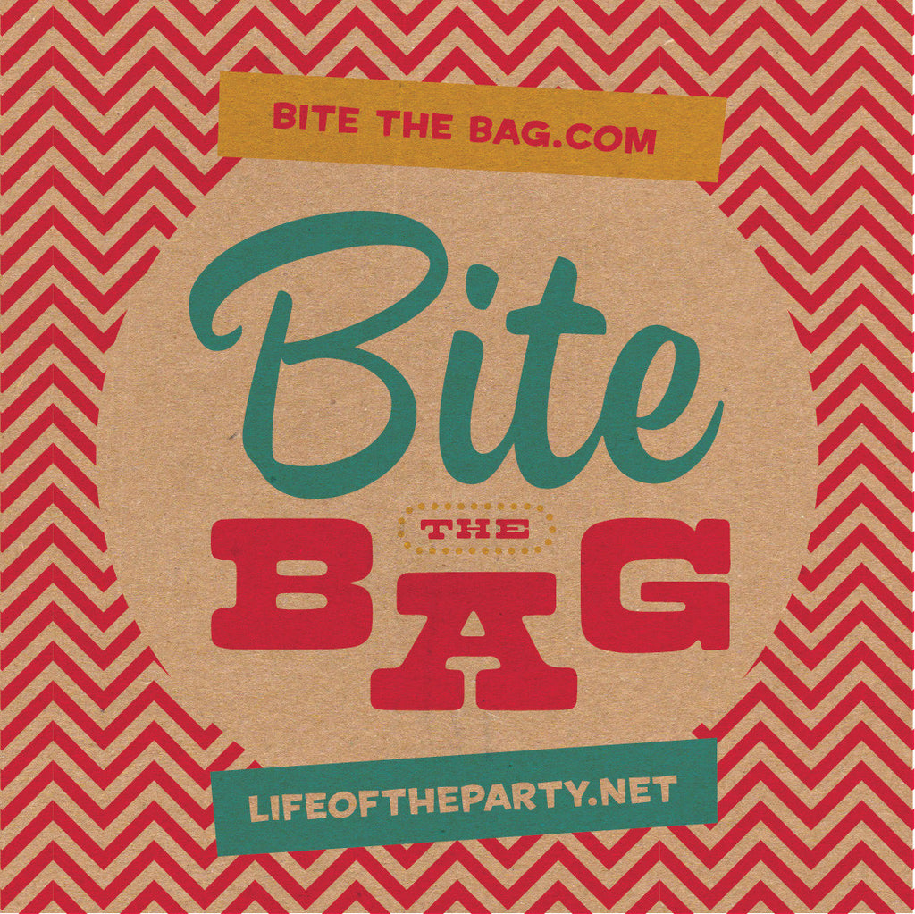 the original Bite the Bag Party Game for all ages