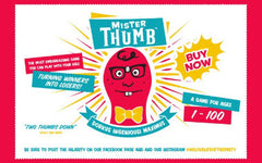 the original Mister Thumb party game for all ages