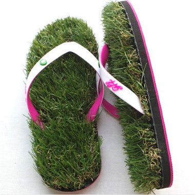 You can't Smoke it - Grass Flip Flops