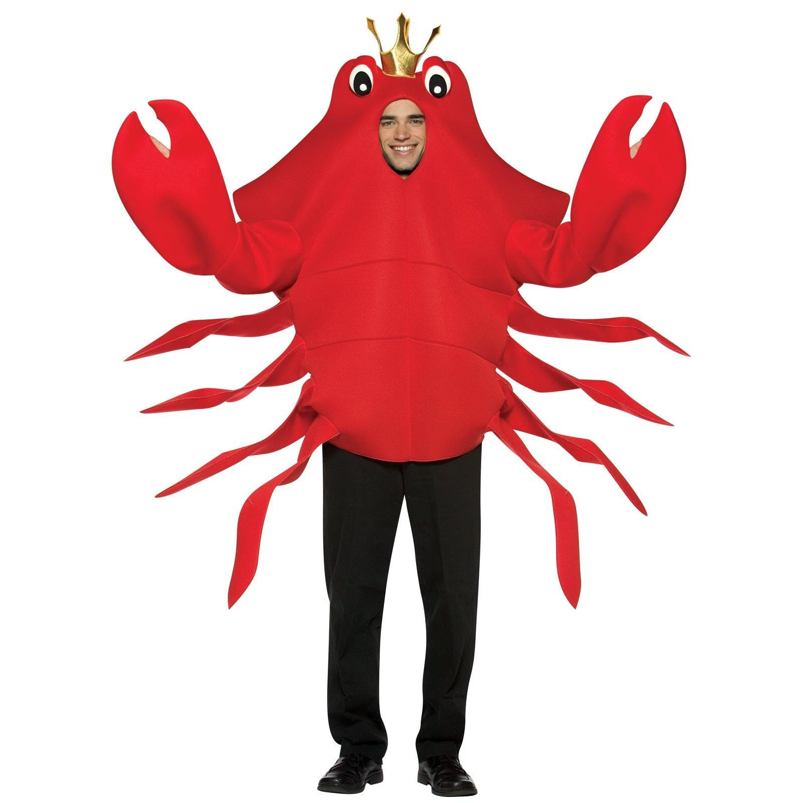 Don't be Crabby that you are getting married - Adult Solo Cup holding Crab and Lobster Costume
