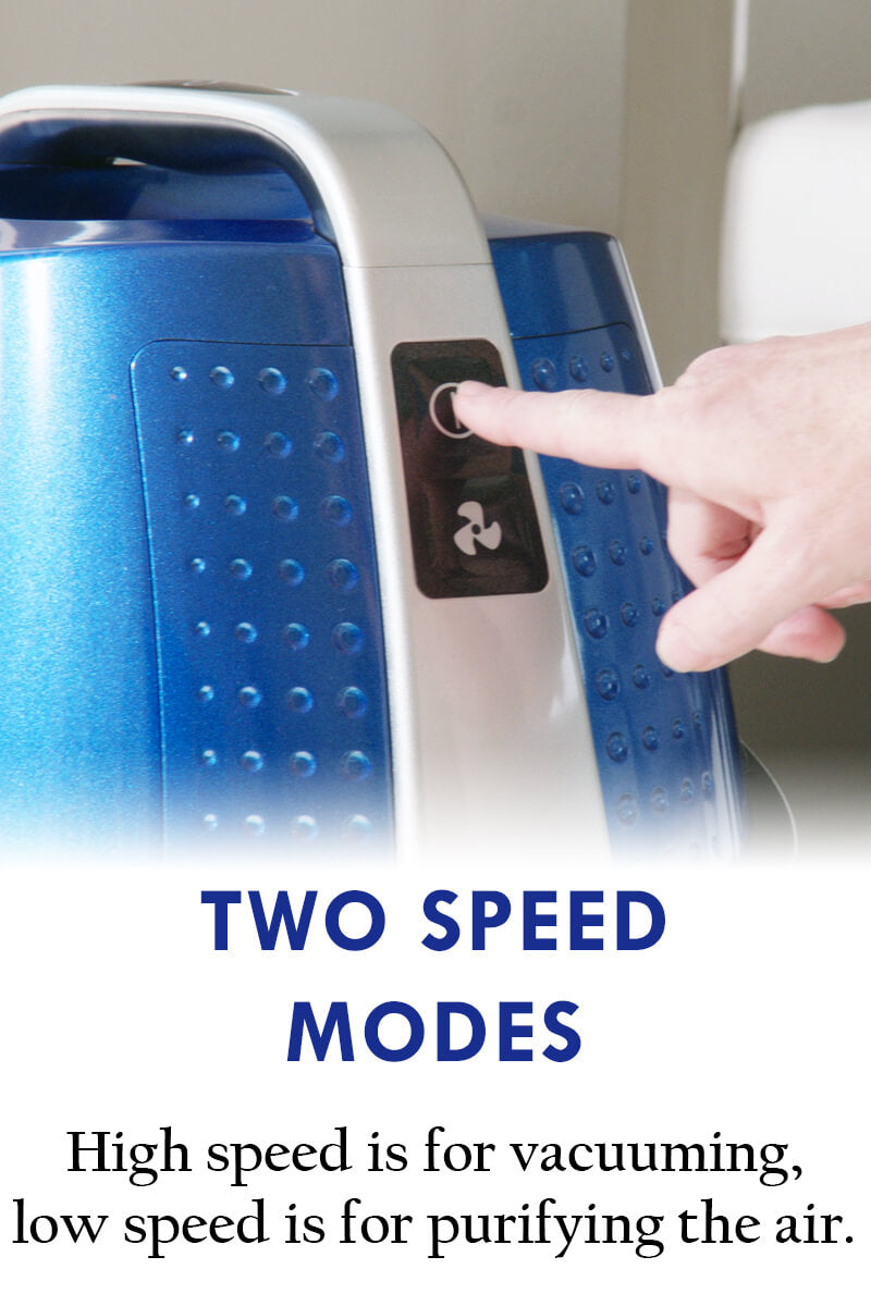 Sirena Vacuum - Two Speed Modes