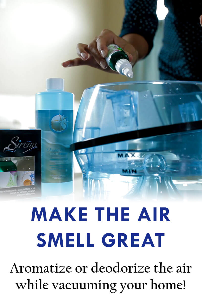 Sirena Vacuum - Make The Air Smell Great