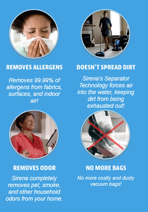 Sirena Vacuum Cleaner Benefits