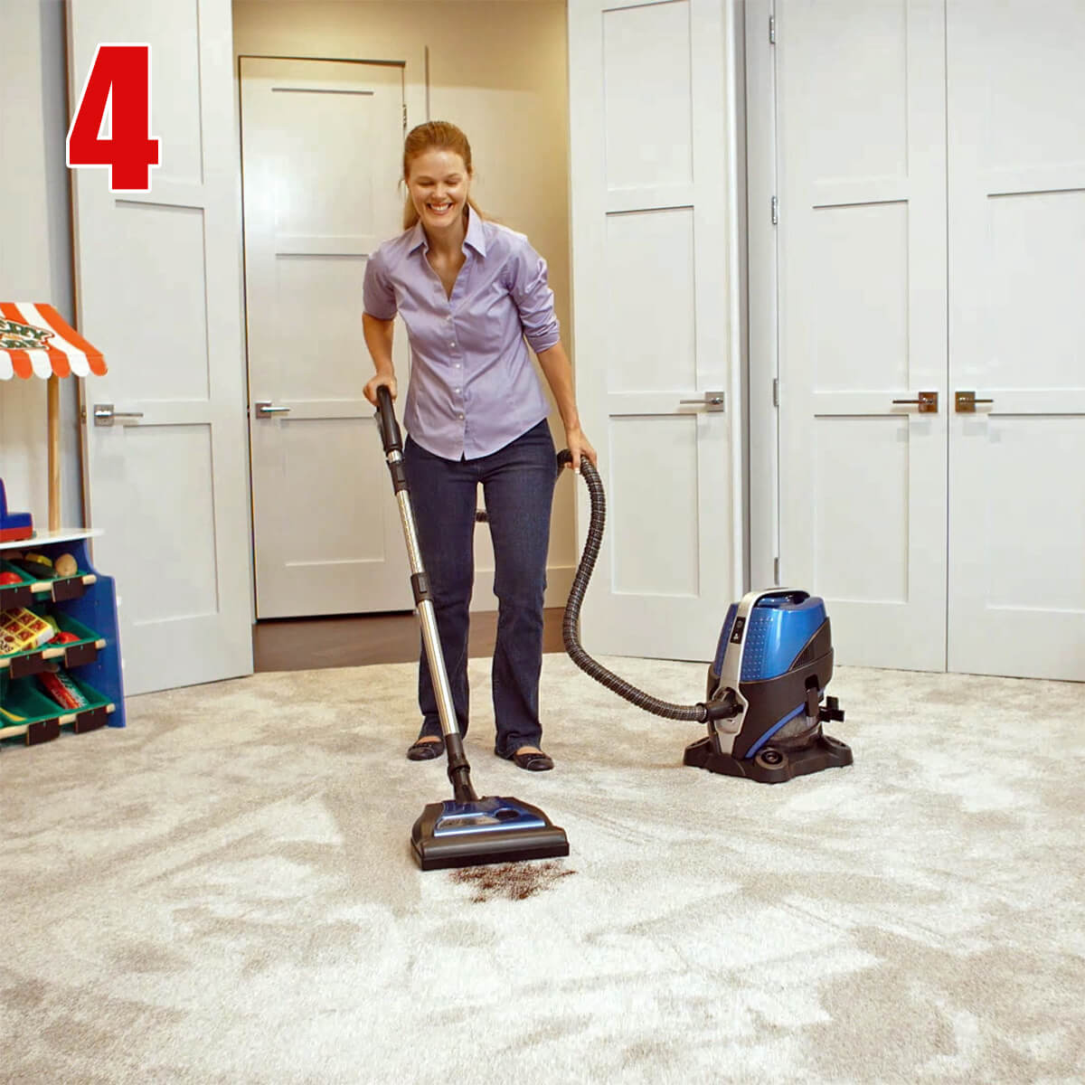How To Use Your Sirena Vacuum Cleaner - Step 4