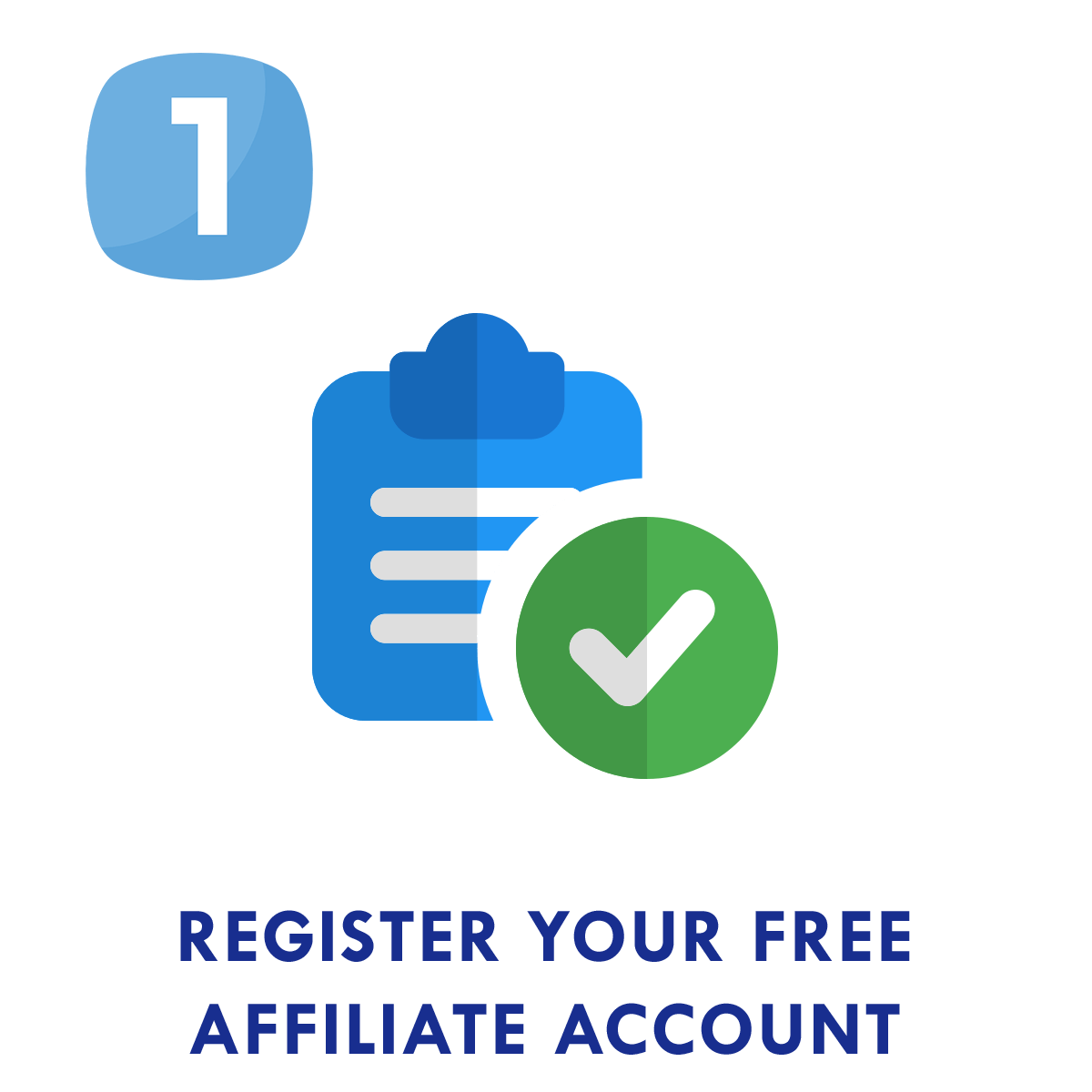 Step 1: Register your free Sirena affiliate account