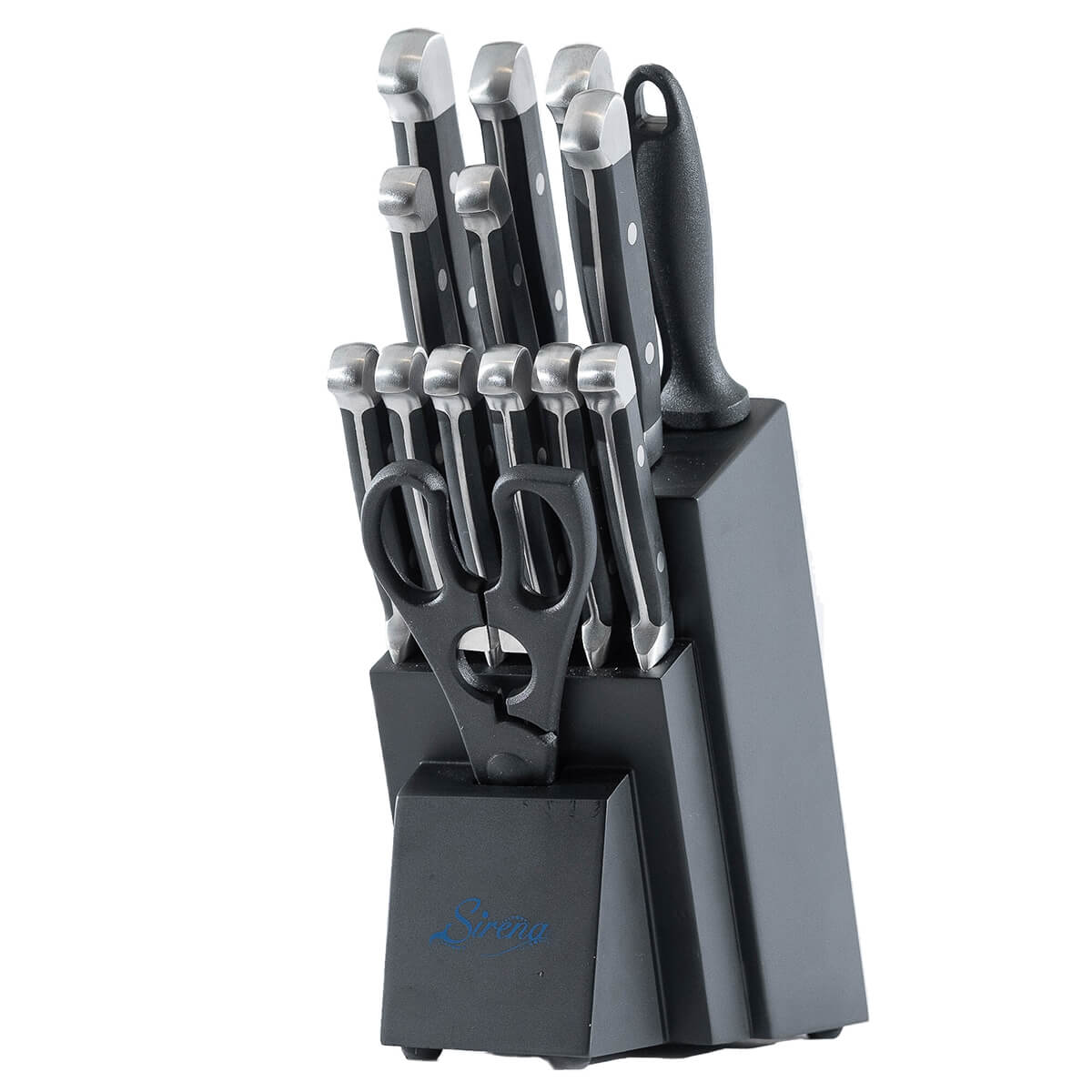 Sirena Elite Knife Set in universal storage block