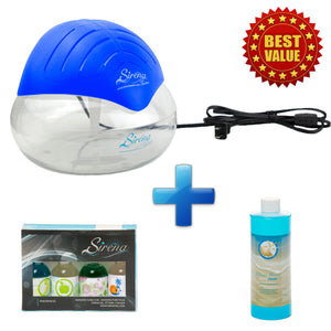 Sirena Twister + Sirena Fragrance Pack + Ocean Breeze Deodorizer (COMBO DEAL)