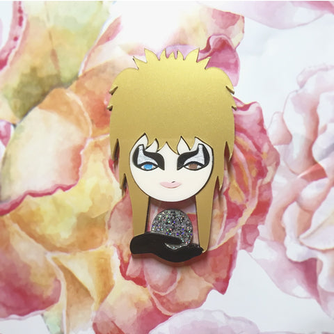 LIMITED EDITION Goblin King brooch - mini version