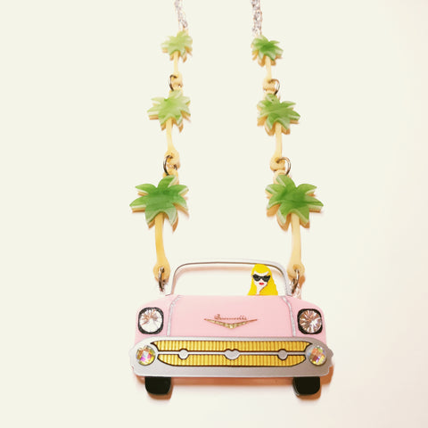 PRE-ORDER Lola cruising in Palm Springs necklace