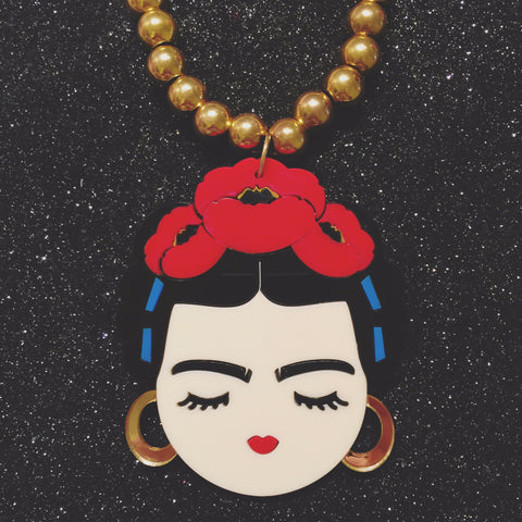 PRE-ORDER: Large Frida necklace