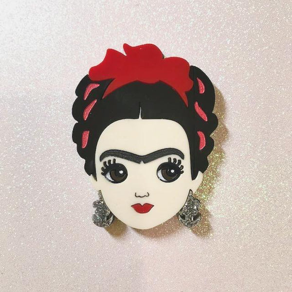 Nonita Doll - Frida brooch