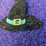Witch hat brooch
