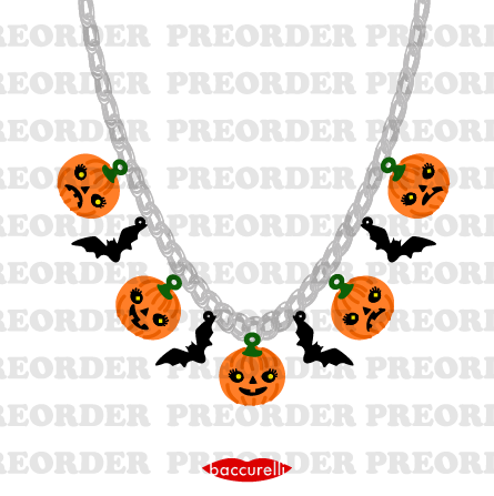 Pre-order - Valley of the Pumpkins charms necklace