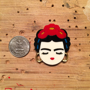 Frida Khalo brooch (mini)