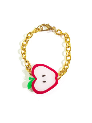 Apple-a-day bracelet