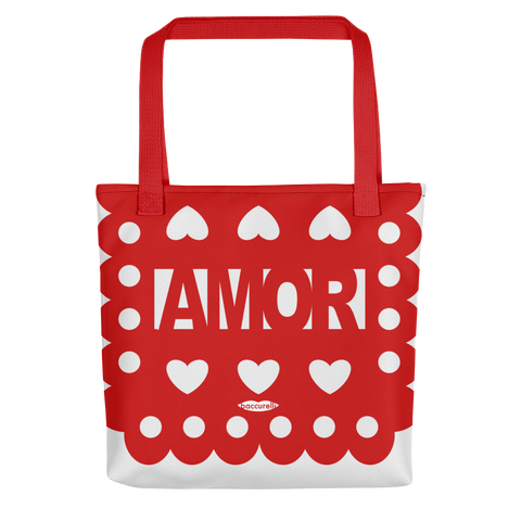 Tote Mexican Perforated Banner bag