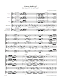 HANDEL, G. - Hercules: Where shall I fly! (print edition)