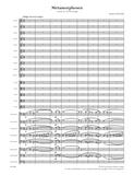 STRAUSS, R. - Metamorphosen (print edition)