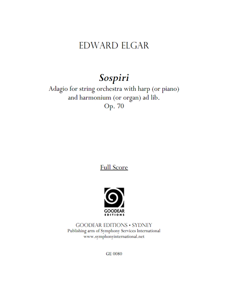 ELGAR, E. - Sospiri (digital edition)
