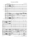 SCHUBERT Overture in B flat (digital edition)