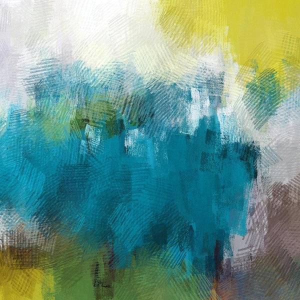 Color harmony N 28. Canvas Print by Irena Orlov