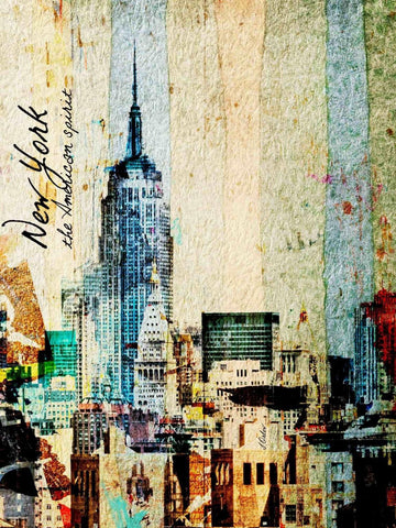 New York the American Spirit. New York Canvas Print by Irena Orlov up to 60""