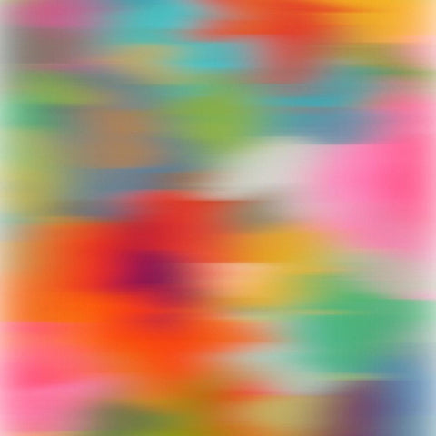 3D Blurred Boundaries - Abstract Expressionism N4. Canvas Print by Irena Orlov