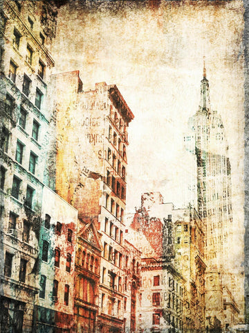 Empire State Building. New York Canvas Print by Irena Orlov up to 60""