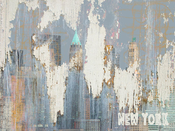 New York 2001. Canvas Print by Irena Orlov 24x36""