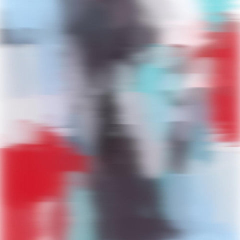 3D Blurred Boundaries - Abstract Expressionism N5. Canvas Print by Irena Orlov