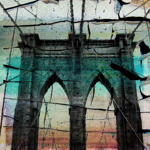 Brooklyn Bridge, New York City. Canvas Print by Irena Orlov